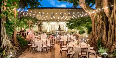 outdoor wedding reception south florida